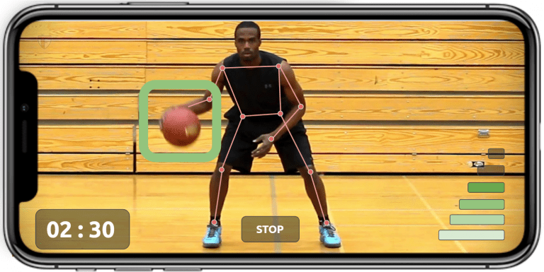 Basketball boucing high low - accuracy & control02