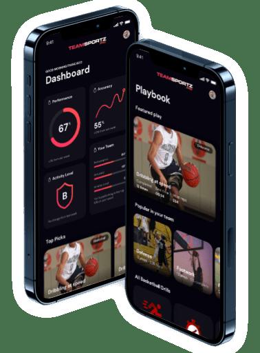 TeamSportz app design